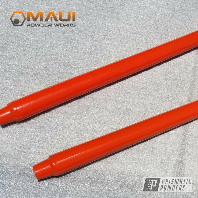 Powder Coating: Auto Parts,Auto Anthracite Polychem,Tangerine PMB-4050