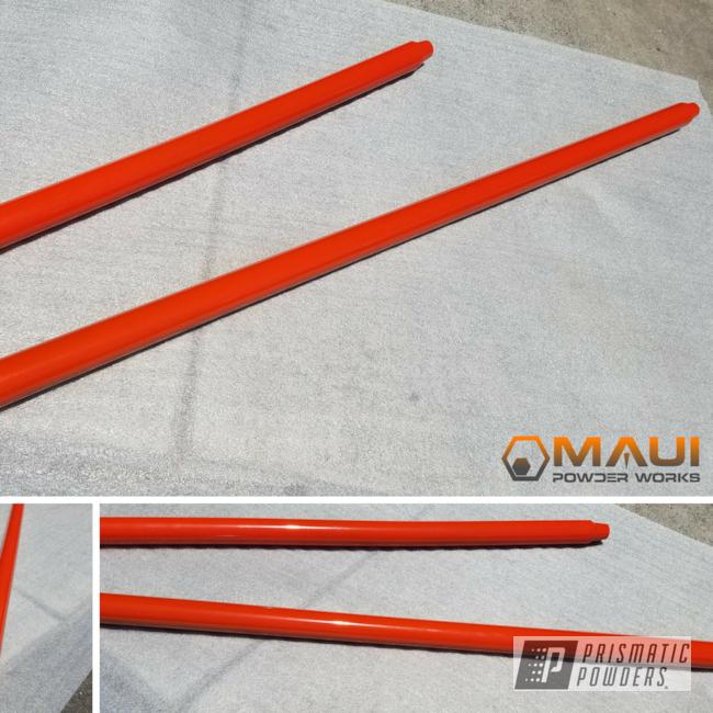 Powder Coating: Auto Parts,Tangerine PMB-4050,Auto
