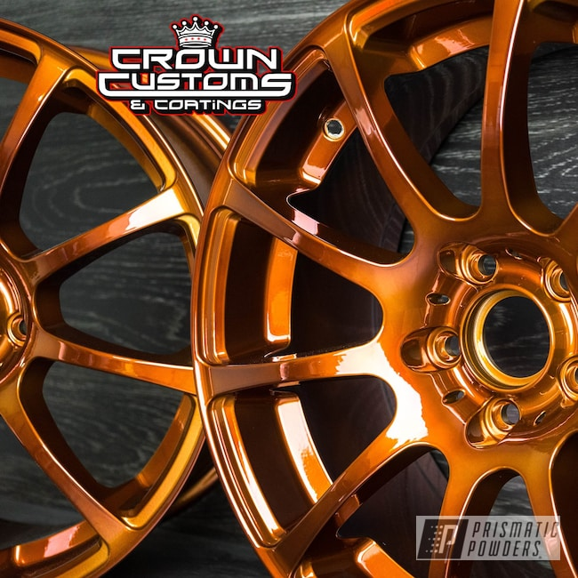 Powder Coating: Wheels,Automotive,Transparent Copper PPS-5162,SUPER CHROME USS-4482,Custom Wheels,VMR Wheels,VMR v701,Powder Coated VMR Wheels,VMR 701 Wheels