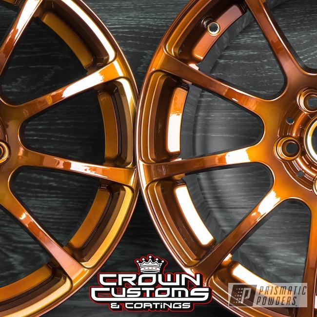 Powder Coating: Wheels,Automotive,Transparent Copper PPS-5162,SUPER CHROME USS-4482,Custom Wheels,VMR Wheels,VMR v701,Powder Coated VMR Wheels,VMR 701 Wheels