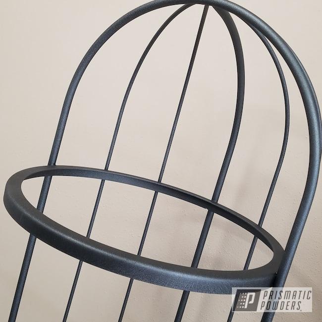 Powder Coating: Textured Finish,Decorative Furniture,Shelving,Silver Splatter PWB-3044,Textured,Furniture