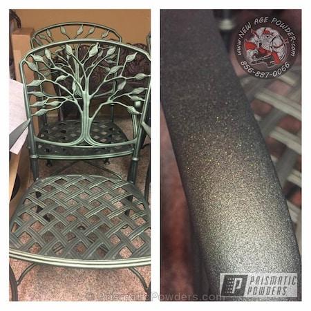 Powder Coating: Single Powder Application,Greenland PCB-1128,Patio Furniture,Custom Outdoor Furniture,Rehabbed Lawn Furniture,Furniture