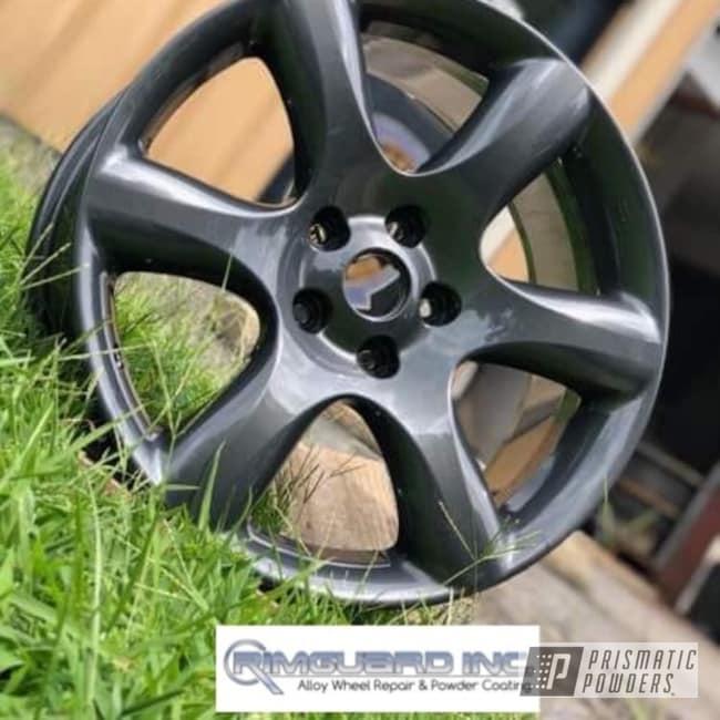 Wheels Finished In A Lazer Diamond Powder Coat