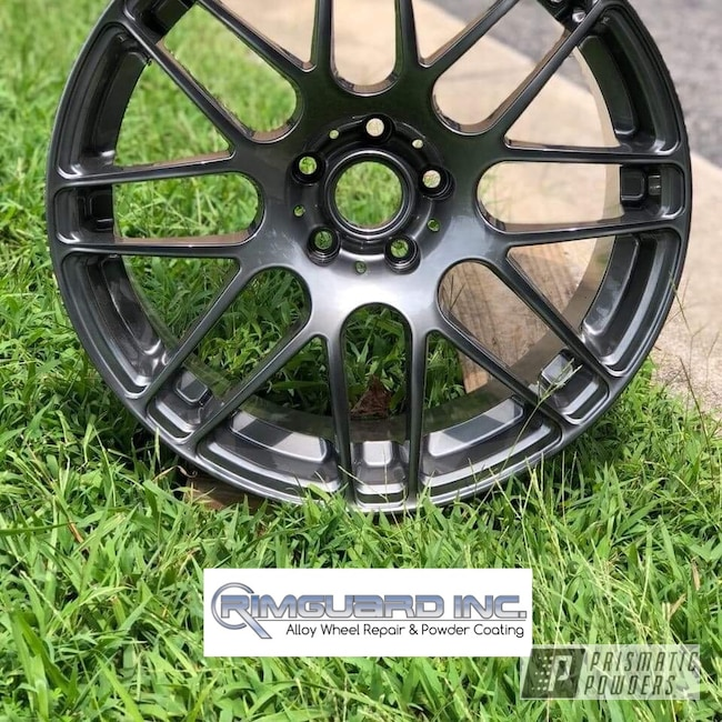 Powder Coating: Wheels,Automotive,ULTRA BLACK CHROME USS-5204