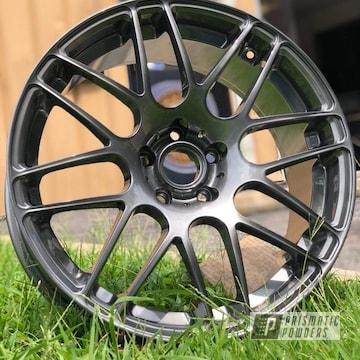 Powder Coated Wheels In Ultra Black Chrome