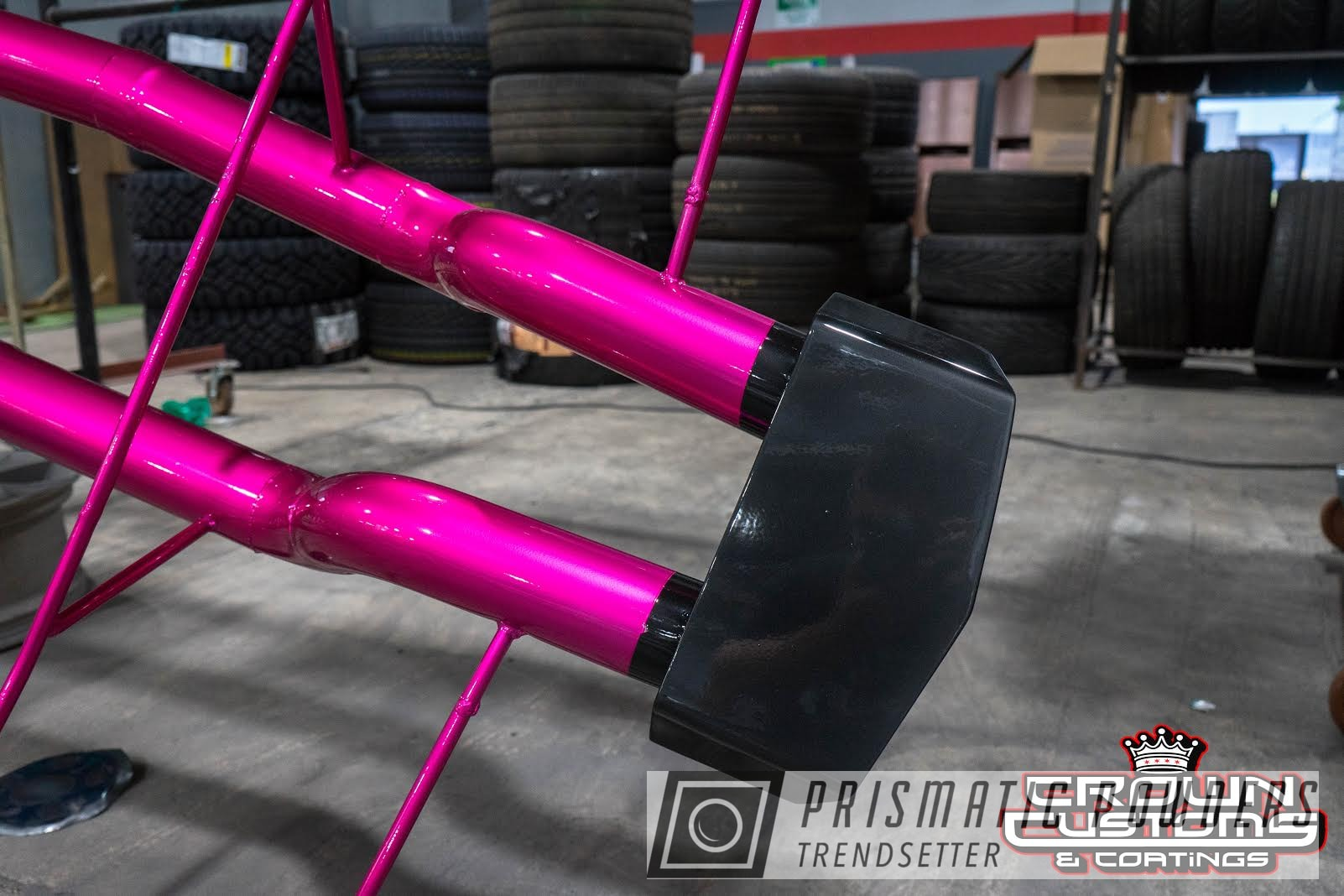 Powder Coating: Automotive,Clear Vision PPS-2974,Exhaust Tip,Cadillac CTS-V,Car,Illusion Pink PMB-10046,Exhaust,Car Parts
