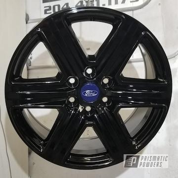Ford Rims In Ink Black