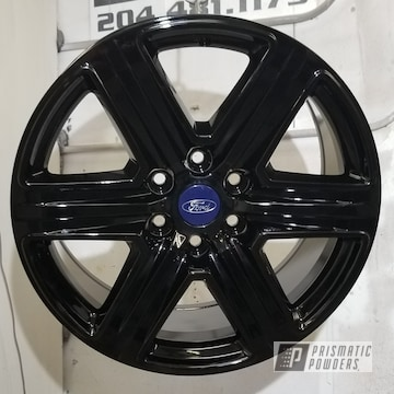 Ford Rims In Ink Black