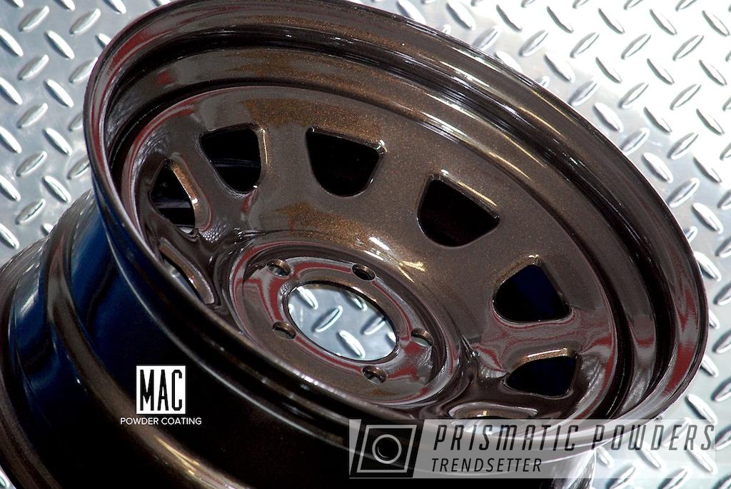 18 Inch Steel Wheels In A Metallic Bronze Powder Coat ...