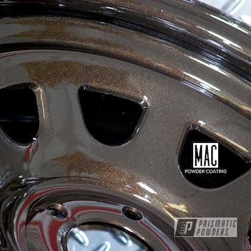 18 Inch Steel Wheels In A Metallic Bronze Powder Coat