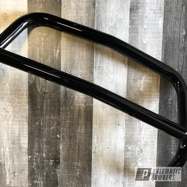 Powder Coating: Automotive,Monster Truck,Push Bar,Ink Black PSS-0106,Bull bar