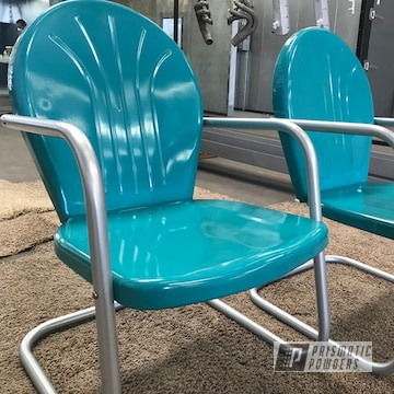 Powder Coated Patio Furniture In Ral 5018