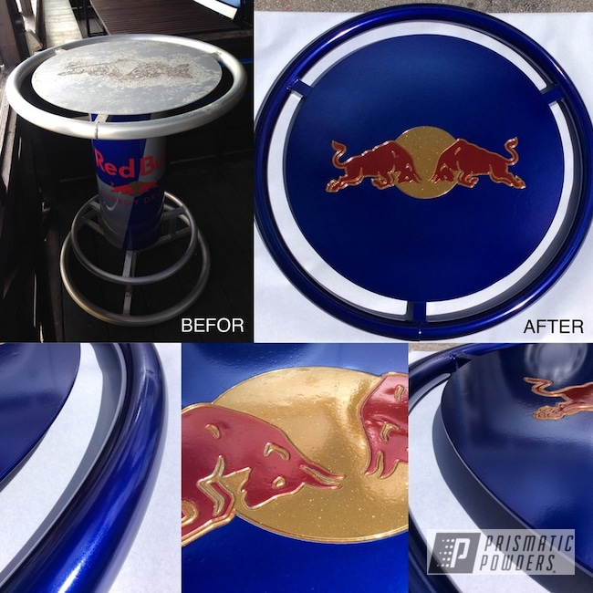 Powder Coating: Flaming Gold PPB-4698,Redbull,SUPER CHROME USS-4482,Table Top,LOLLYPOP RED UPS-1506,LOLLYPOP BLUE UPS-2502,Table,Furniture
