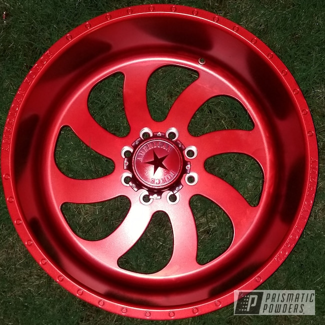 Powder Coating: Wheels,Automotive,24inch,Anodized Red PPB-5936