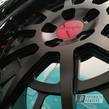 Powder Coated Porsche Cayenne Automotive Advan Racing Wheels