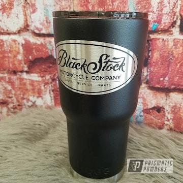 Tumbler Drinkware In Sterling Black