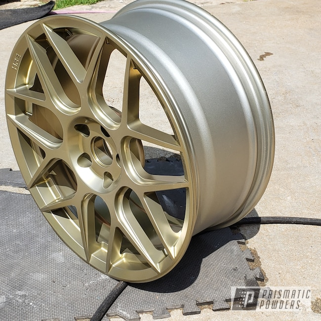 Powder Coating: Wheels,Automotive,SUPER CHROME USS-4482,20inch,SMOKED NUGGET UPB-5519