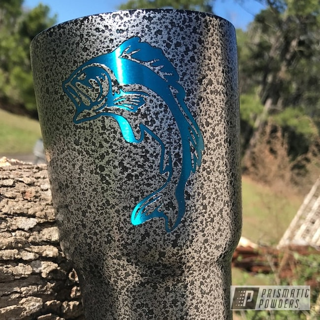 Powder Coating: Tumbler,Charity Cup Donation,ANODIZED BLUE UPB-1394,Black Frost PVS-3083,Custom Tumbler,Miscellaneous