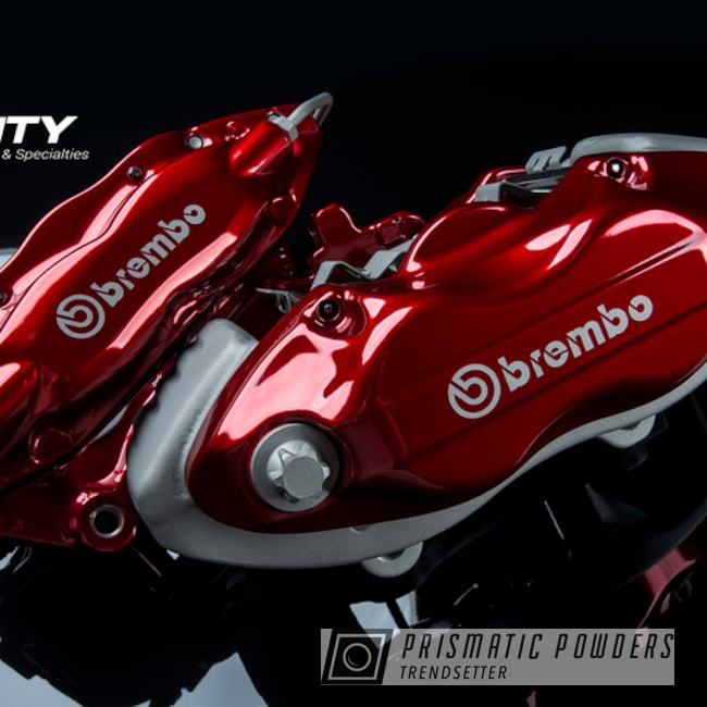 Powder Coated Brembo Brake Calipers Dodge Challenger