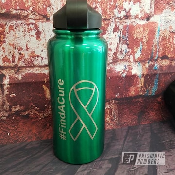 Powder Coated Tumbler Water Bottle