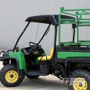 Powder Coated Atv In Tractor Green