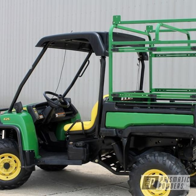 Powder Coating: Tractor Green PSS-4517,ATV,John Deere,Miscellaneous,Offroad