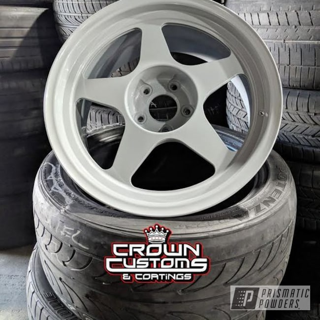 Drift Wheels In Ral 7042 A Classic Traffic Grey Color