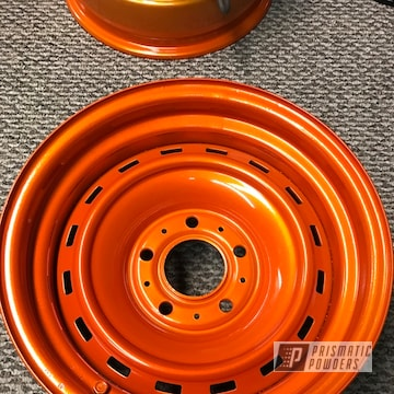 Chevrolet Steel Rims In Illusion Orange And Clear Vision