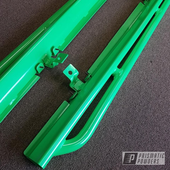 Powder Coating: Off Road,Automotive,Limelite PMB-0869,Running Boards,Side Steps,Jeep