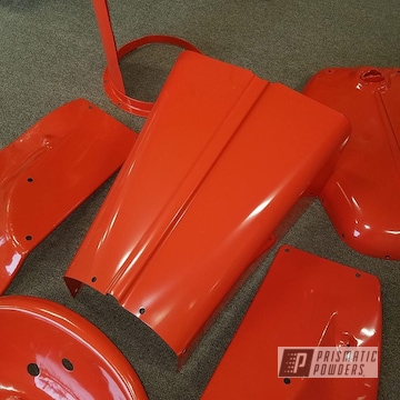 Powder Coated Tractor Parts