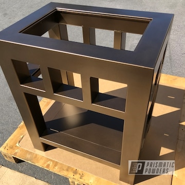 Powder Coated Nightstand
