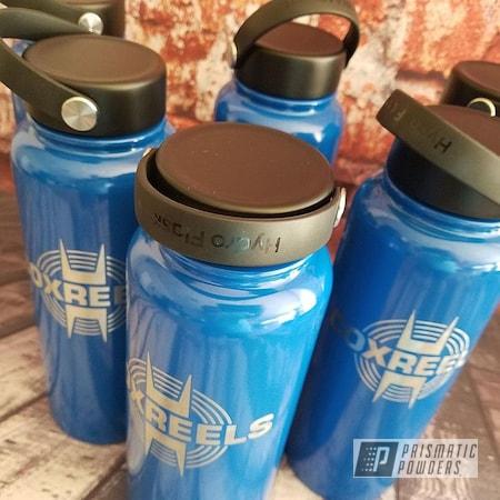 Powder Coating: Brazilian Blue PMB-0770,Hydroflask,Custom Cups,Water,Drinkware,Water Bottle