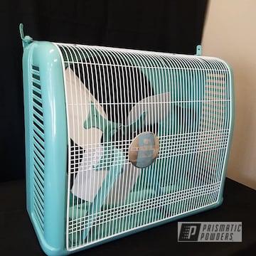 Powder Coated Vintage Fan