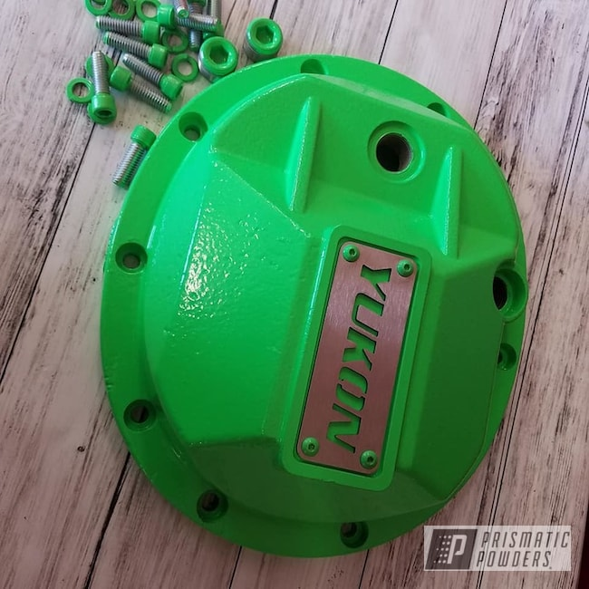 Powder Coating: Automotive,Jeep Parts,Jeep,Neon Green PSS-1221,Neon