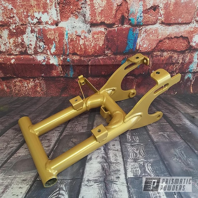 Powder Coating: Goldtastic PMB-6625,ATV,Off-Road,Quad Parts,Powder Coat Wheels