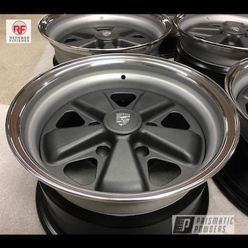 Powder Coated Porsche Wheels