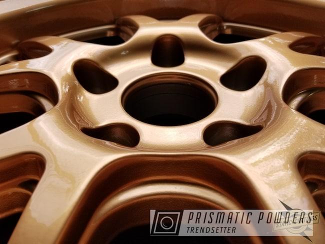 Powder Coating: Wheels,Automotive,Clear Vision PPS-2974,Illusion True Copper - DISCONTINUED PMB-10044,Powder Coat Wheels