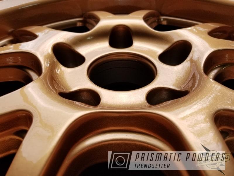 Custom Wheels In A Copper Powder Coat Finish