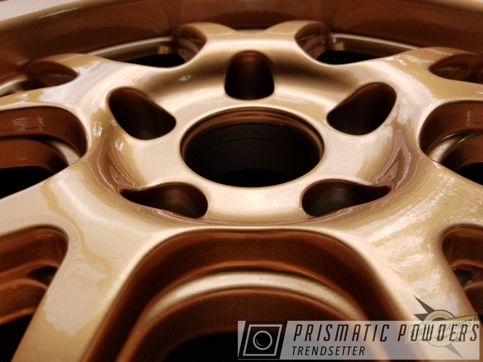 Powder Coating: Illusion True Copper PMB-10044,Wheels,Automotive,Clear Vision PPS-2974,Powder Coat Wheels