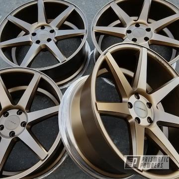 Powder Coated Automotive Wheels