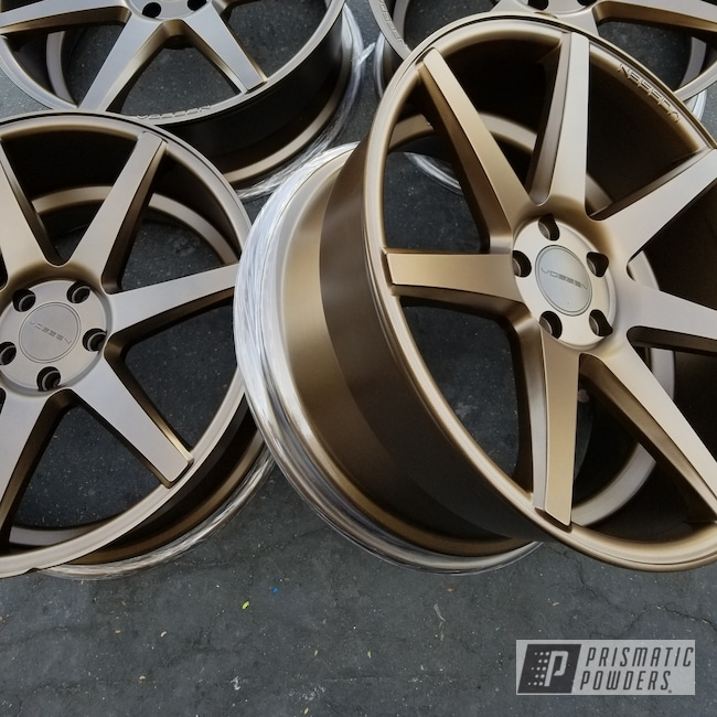 Powder Coating: Wheels,Automotive,TRIPLE BRONZE UMB-4548,customewheel,Auto