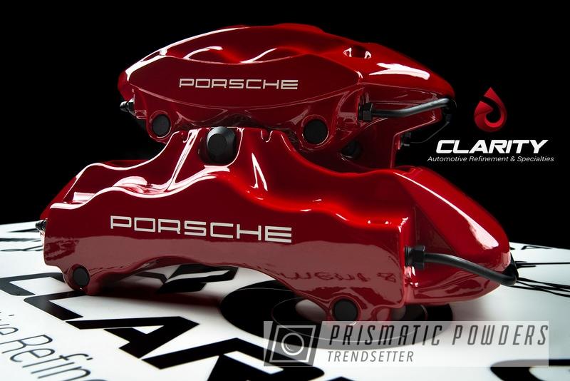 Powder Coated Porsche 911t Automotive Brake Calipers