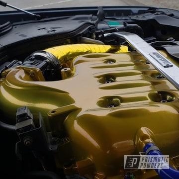 Powder Coated Automotive Intake