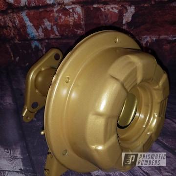 Powder Coated Automotive Engine Parts
