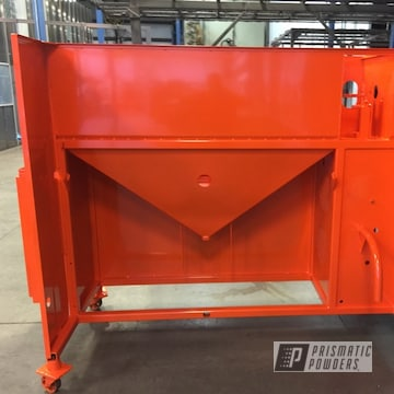 Just Orange Powder Coated Welding Table