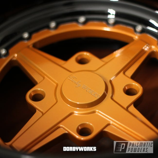 Powder Coating: Wheels,Orange Tangelo PPB-2324,Honda,Powder Coated Honda Rukus Wheel
