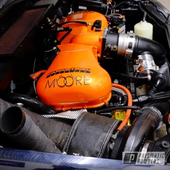 Powder Coating: WRX,Clear Vision PPS-2974,Subaru,moore power,Mothership,Illusion Orange PMS-4620