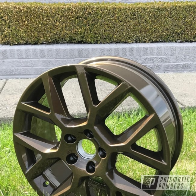 Powder Coating: Automotive,Clear Vision PPS-2974,Custom Wheels,18inch,DARK BRONZE II UMB-4965