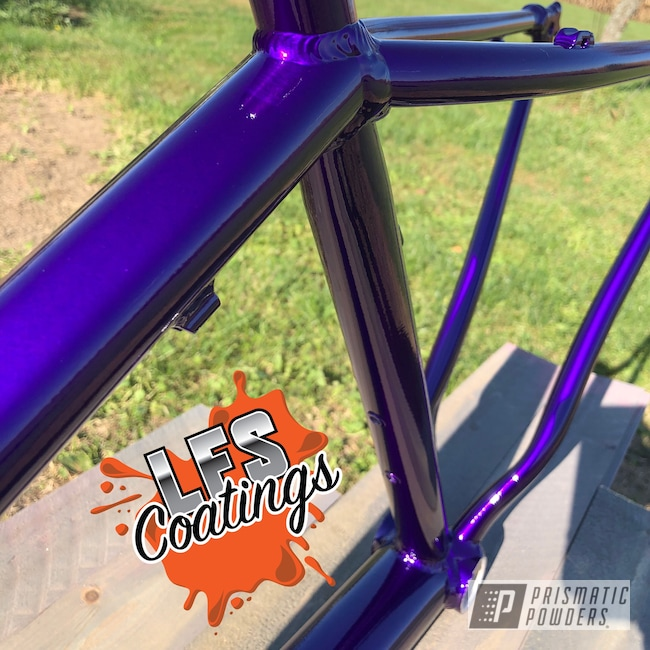 Powder Coating: Illusion Purple PSB-4629,Bicycles,Mountain Bike,MTB,Clear Vision PPS-2974,Trek,Bike,Downhill,BMX