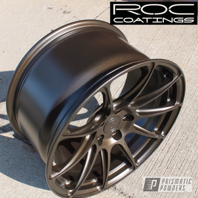 Powder Coating: Stone Bronze PMB-2106,Wheels,Automotive,Signature Wheels,Custom Wheels